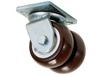 HEAVY-DUTY DUAL-WHEEL CASTER